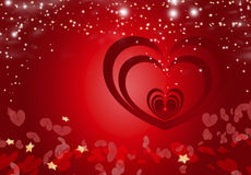 Valentine Heart Background 5 Royalty Free Stock Images
