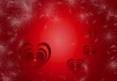Valentine Heart Background 6. Valentine Heart Background in Red Gradient color.Created on 01 February 2016 Royalty Free Stock Photo