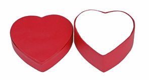 Valentine Heart Box Royalty Free Stock Image