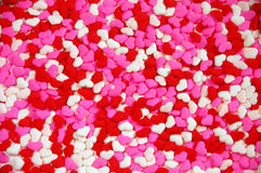Valentine heart candy Stock Photo