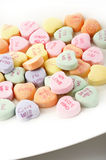 Valentine heart candy Royalty Free Stock Photos