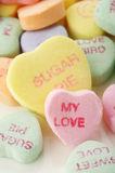 Valentine heart candy Stock Photography