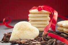 Valentine heart cookies Stock Photo
