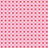 Valentine heart couple seamless background Stock Image