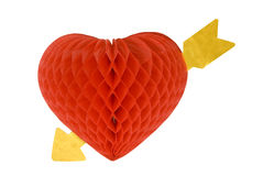 Valentine Heart Decorations Royalty Free Stock Photo