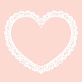 Valentine heart decorative ornamental frame banner background Stock Images