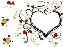 Valentine heart design Royalty Free Stock Image
