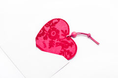 Valentine heart in an envelope Royalty Free Stock Photography
