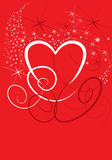 Valentine heart.eps Royalty Free Stock Photography
