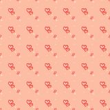 Valentine Heart Festive Seamless Patterns. Valentine Day Heart Festive Seamless Patterns Royalty Free Stock Photography