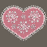 Valentine heart 1 Royalty Free Stock Images