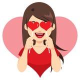 Valentine Heart Lollipop royalty illustrazione gratis