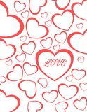 Valentine Heart love for couple Stock Photography