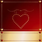Valentine heart love Vector Royalty Free Stock Photo