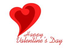 Valentine heart love logo dsign. Valentine heart love vector dsign concept logo couple Stock Photo