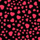 Valentine heart pattern-04 Royalty Free Stock Photo