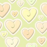 Valentine heart pattern. Small cute colorful heart Stock Photos