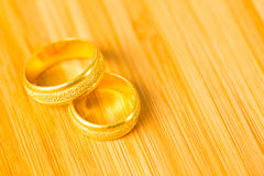 Valentine heart rings Royalty Free Stock Photography