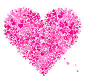 Valentine heart shape, love Royalty Free Stock Photography