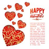 Valentine Heart Symbol. Images stock