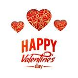 Valentine Heart Symbol. Vector illustration Stock Photo