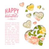 Valentine Heart Symbol. Vector illustration Royalty Free Stock Image