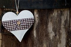 Valentine heart. A heart with a tree backround Stock Images