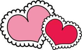 Valentine Hearts Stock Photo