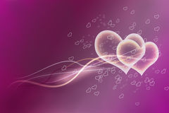 Valentine hearts Stock Photography