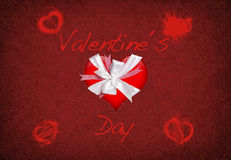 Valentine hearts. Royalty Free Stock Photo