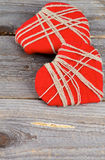 Valentine Hearts Immagini Stock Libere da Diritti