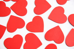 Valentine hearts stock photos