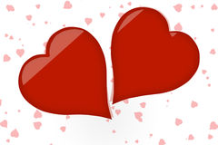 Valentine hearts Royalty Free Stock Photo