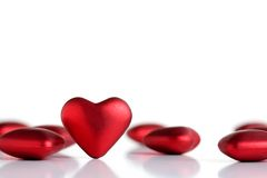 Valentine hearts Royalty Free Stock Images