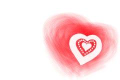 Valentine hearts Stock Image