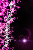 Valentine Hearts Background Image libre de droits