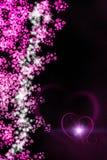 Valentine Hearts Background Imagen de archivo libre de regalías