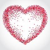 VAlentine Hearts Background 1 Photos libres de droits