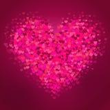 VAlentine Hearts Background 1 Image stock