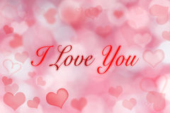 Valentine Hearts Background. Royalty Free Stock Image