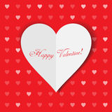 Valentine hearts background Royalty Free Stock Photo