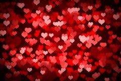 Valentine Hearts Background Royalty Free Stock Photos