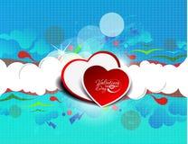 Valentine hearts design Royalty Free Stock Image