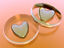 Valentine hearts, holiday love. Stock Photography