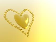 Valentine hearts, holiday love. Stock Photo