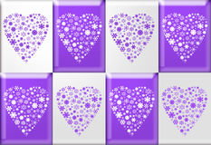 Valentine Hearts Royalty Free Stock Photography