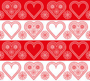 Valentine Hearts Ornament Royalty Free Stock Photo