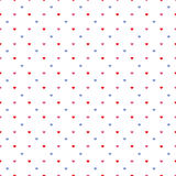 Valentine hearts pattern Royalty Free Stock Image