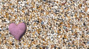 Valentine hearts from rocks background  - 3d rendering. 1 Stock Photography