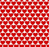 Valentine Hearts Seamless Wallpaper Stock Photo